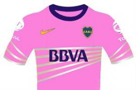 La nueva camiseta rosa de Boca