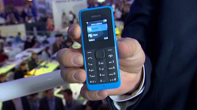 Un celular con una batería que dura hasta 35 días