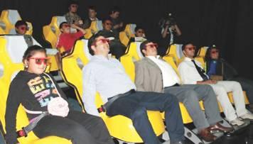 La primera sala de cine 6D en Sudamérica