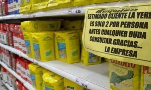 Ya empiezan a faltar algunos productos en las góndolas de los supermercados
