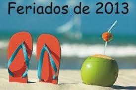 Feriados Nacionales 2013 en Argentina