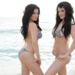 Las fotos hot de las gemelas Howe