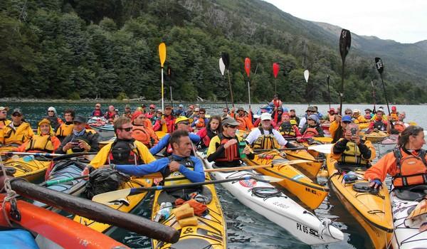 Encuentro Nacional de Kayakistas Powerade 2013 en Bariloche Calendario de actividades