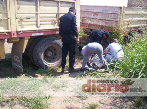 Muere aplastado por un camión mientras trabajaba en un campo