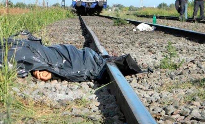 Pacto suicida en las vías del tren
