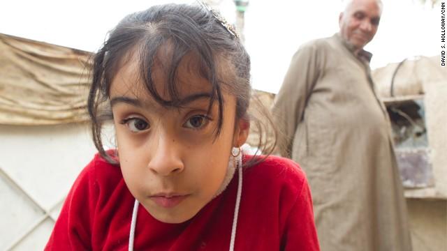 Baby Noor, la niña iraquí enferma con un destino incierto
