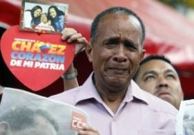 Cristina llegó a Venezuela para despedir a Chávez