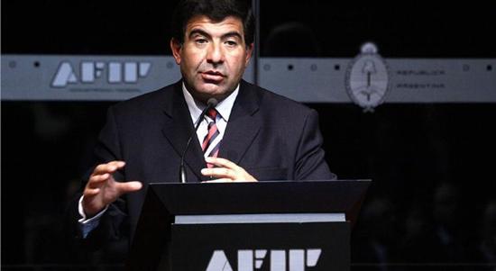 """Echegaray: """"La Afip se dedica a la política tributaria y no cambiaria"""""""