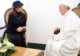 Cristina pidió al Papa su intermediación en la cuestión Malvinas
