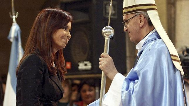 El Papa recibe a Cristina Kirchner el lunes