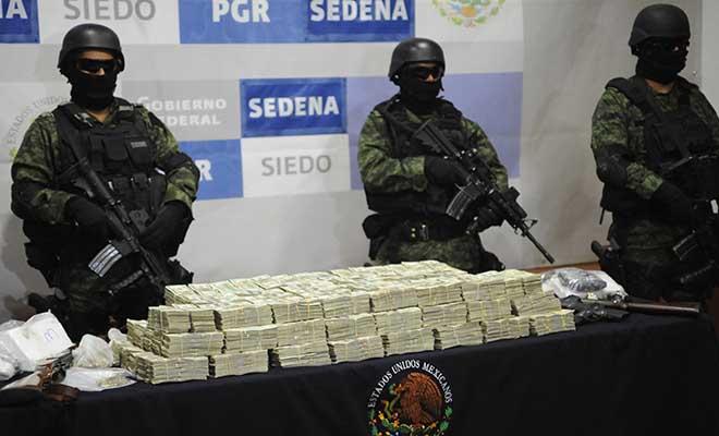El cártel de Sinaloa gana 3 mil millones de dólares por año