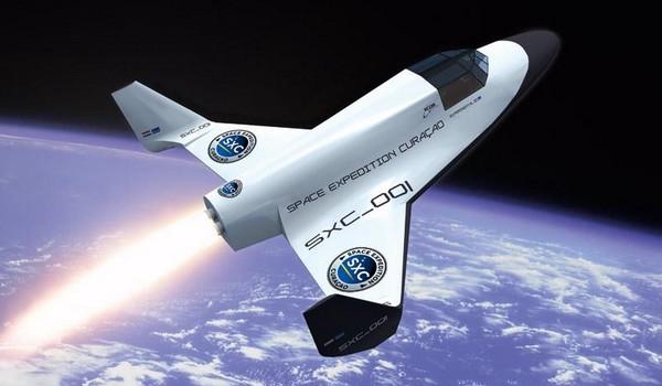 Se podrá comprar viajes en una nave espacial a partir del año 2014