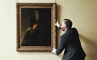 Descubren autorretrato de Rembrandt