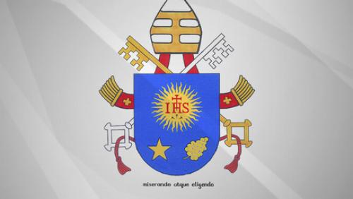 escudo papal de Franciso