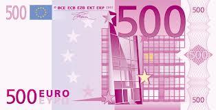Buscan eliminar los billetes de 500 euros para reducir lavado de dinero