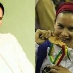 Fotos de Alejandra Benítez la ministra de Deportes de Maduro