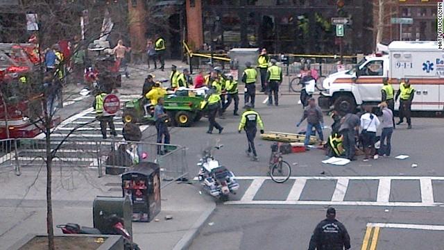 3 muertos y varios heridos por una explosión en la línea de meta de la Maratón de Boston