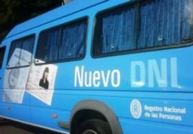 Operativo especial de documentación en La Plata