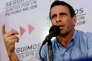 Capriles retira convocatoria a marchas para evitar violencia