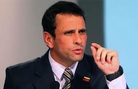 Capriles dice que el Gobierno cortó la entrega de fondos a Miranda,estado del que es gobernador