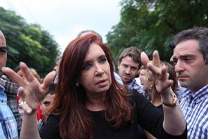 """Cristina se reunió con Scioli y aseguró que van a """"brindar asistencia y mucha seguridad"""""""