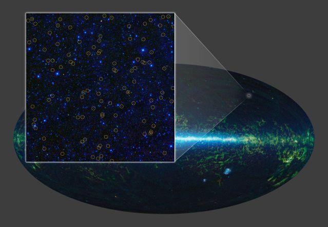 Descubren galaxia que crea estrellas 2.000 veces más rápido que la nuestra