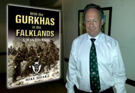 Los secretos de los Gurkhas contados por su líder en las Malvinas