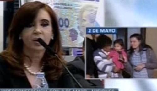 Cristina Kirchner: 'Habla cada ganso por micrófono'