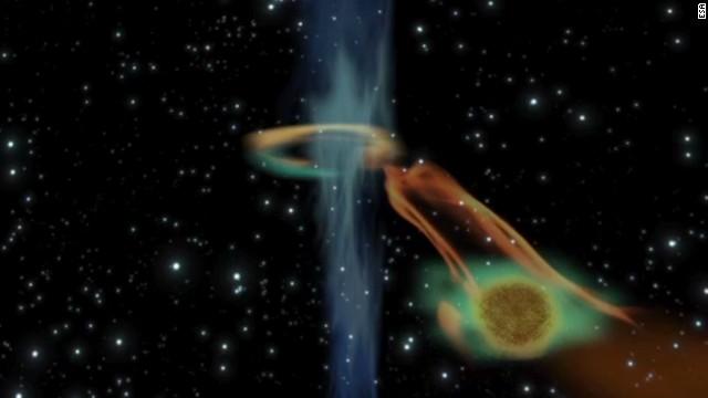 Video: agujero negro absorbe un planeta 15 veces mayor que Júpiter