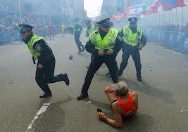 Video: El momento exacto del atentado terrorista en Boston