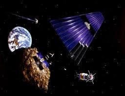 La NASA quiere capturar un asteroide para arrastrarlo a la Luna y crear una base espacial
