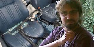 El video del hijo de Aliverti con el cadáver en su auto