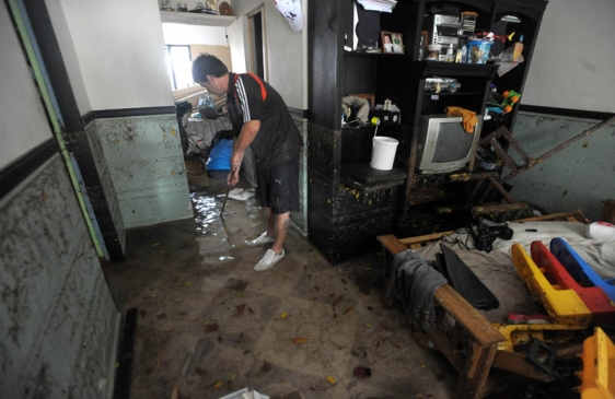 Cómo higienizar la casa tras la inundación