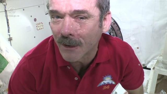 lloras en el espacio