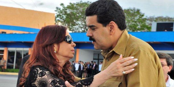 Preparan un acto con Maduro, La Cámpora, Kolina y Luis D'Elía el 8 de Mayo