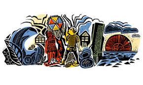 Google homenajeó a Antonio Berni con un Doodle