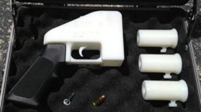 Esta es la primer arma de fuego fabricada con una impresora 3D