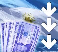 Fuerte baja del dolar blue a $9.17