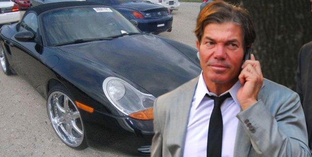 Asaltaron a Fernando Burlando y le roban su auto Porsche