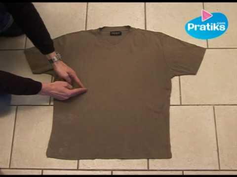 Video: Cómo doblar una camisa en 5 segundos