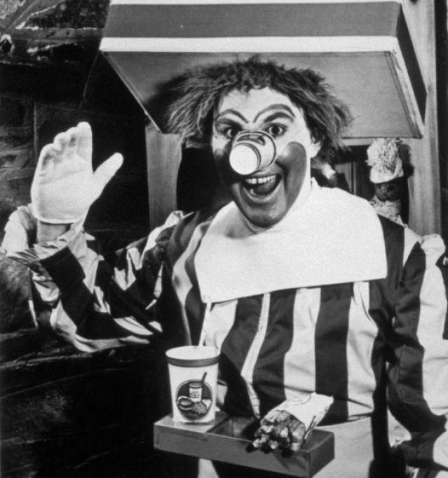 el primer Ronald McDonald