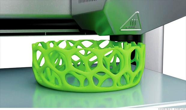 Salen a la venta primeras impresoras 3D hogareñas