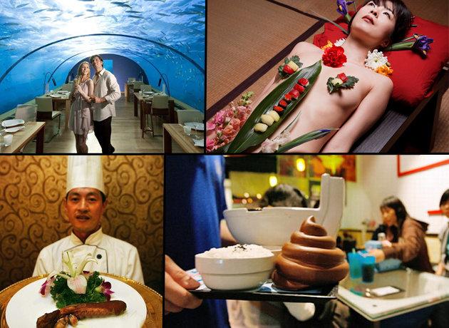 Los 10 restaurantes más raros del mundo