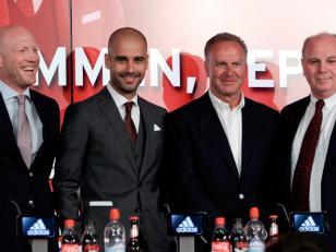 Guardiola fue presentado oficialmente en Bayern Munich