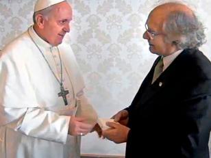 El Papa Francisco recibió a Pérez Esquivel y al líder de comunidad Qom