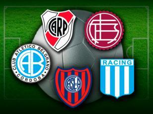 Estos son los 5 equipos que jugarán la Copa Sudamericana 2013