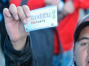 Aumenta el precio de todas las entradas de fútbol argentino