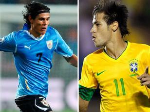 Copa Confederaciones: Brasil vs Uruguay juegan la semifinal