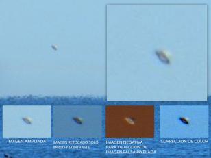 Captan imágenes de un OVNI en Entre Ríos