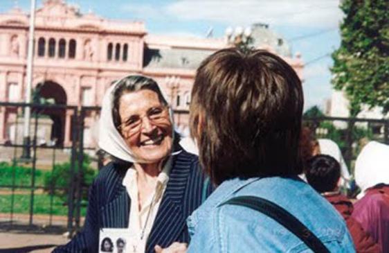 Murió Laura Bonaparte, Madre de Plaza de Mayo